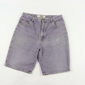 Vintage Stone Wash Robert Stock Denim Jean Shorts